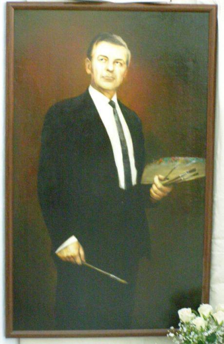 Автопортрет А.П. Бурлая